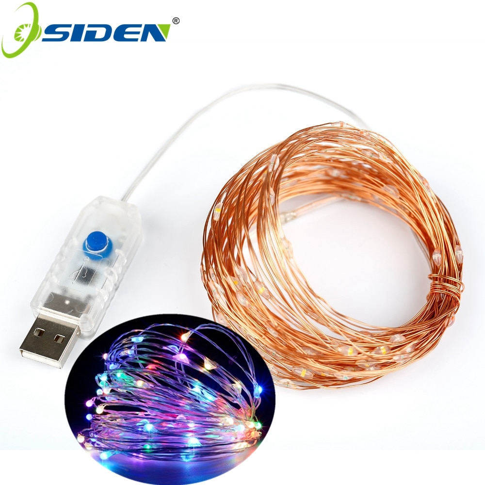 1m 10m usb led lights string outdoor copper wire led fairy light garland holiday chirstmas string light wedding party decorative 10M USB LED String Light Waterproof LED Copper Wire String Holiday Outdoor Fairy Light Christmas Party Wedding Decoration