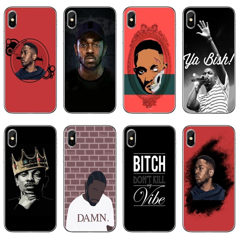rapper Kendrick Lamar phone case For Samsung Galaxy J8 J6 J4 Plus Prime J7 J5 pro J3 J2 2018 2017 2016 soft cover
