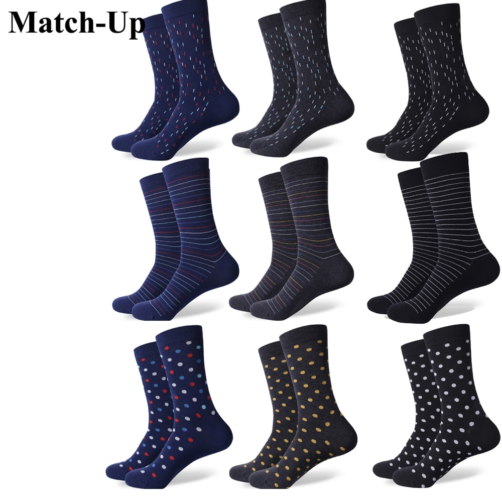 Match-Up New styles men's dress Combed cotton socks сабвуфер match mercedes up w8mb s4