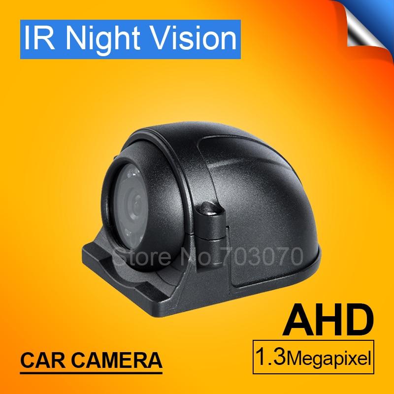 ¡Superventas! Cámara impermeable frontal/lateral CCTV Cámara ir AHD derecha/izquierda para coche/autobús/coche/Taxi