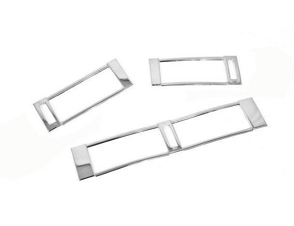 Chrome estilo kit de ventilação ar guarnição para mercedes benz w124