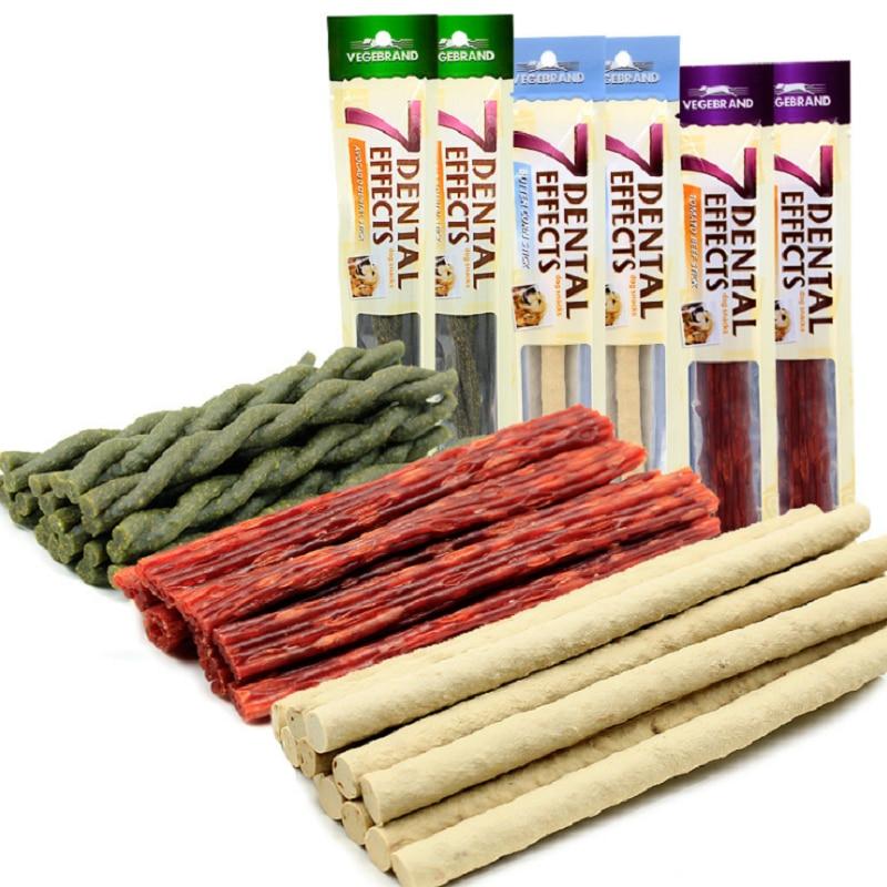 Dog Snacks 3 Flavors Clean Teeth Stick fresh material Corn Beef Avocado Keep Healthy Training Rewards Cleaning Teeth Dog food