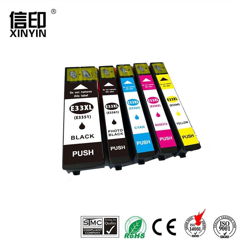 XColor T3351 T3361-4 33 33XL Tinte Patrone Kompatibel Für Epson Expression Premium XP-530 XP-630 XP-635 XP-640 XP-830 XP-900 EU