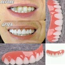 Silicone Men Women Perfect Smile Instant Teeth Flex Veneers Denture Paste