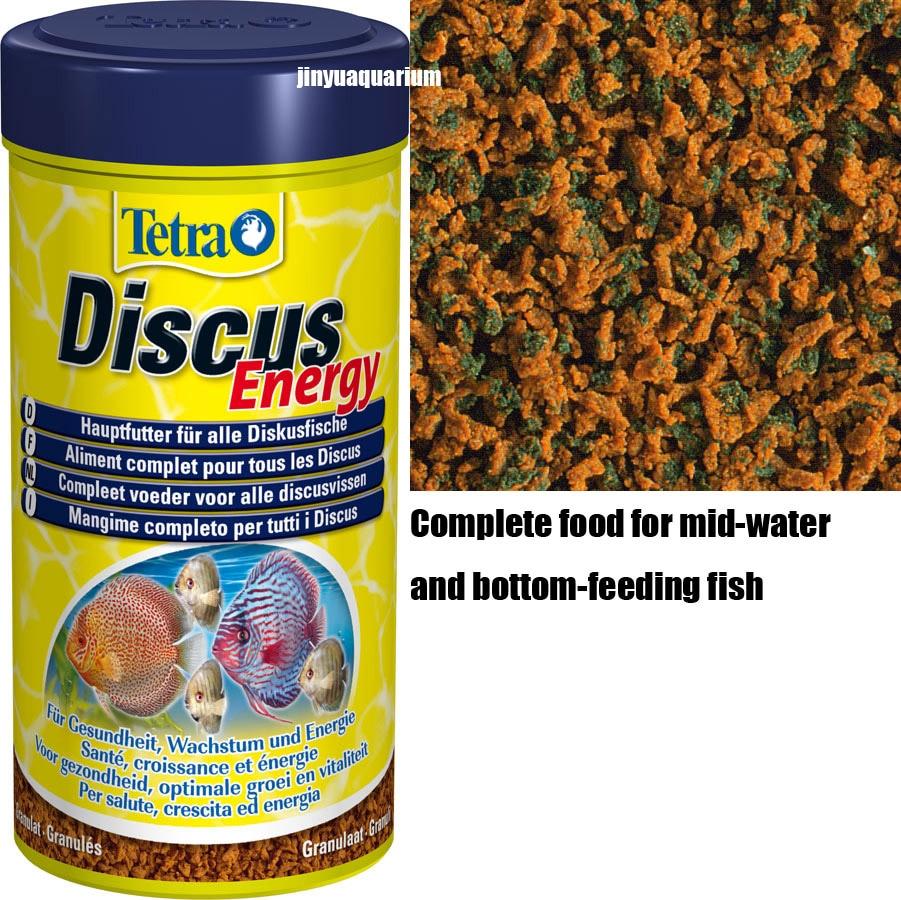 Tetra Discus energía comida de pez tropical hojuelas alimentador de depósito acuario aitum angelfish discos Guppy