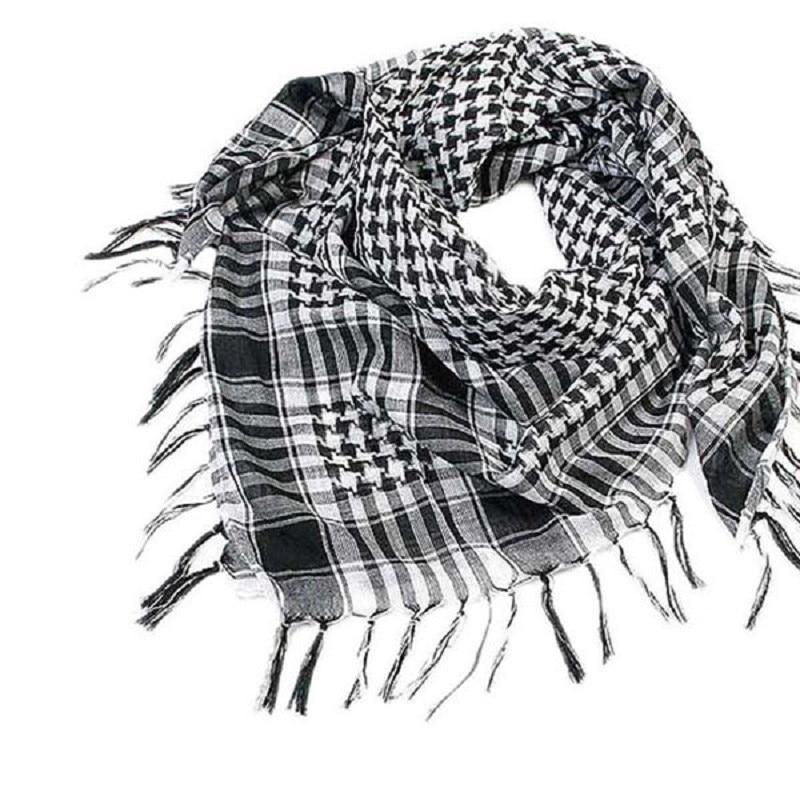 New Spring 1PC Unisex Fashion Women Men Arab Shemagh Keffiyeh Palestine Scarf Shawl Wrap  plaid scarf for women #VC7