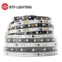WS2811 RGB Led 스트립 5050 SMD 주소 지정 가능 30/48/60/96/144led/m Led 픽셀 외부 1 Ic 제어 3 Led 일반/밝은 1m 5m DC12V