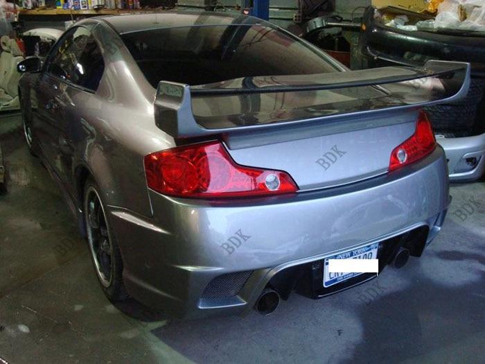 Fit for Infiniti G35 2 doors VS  carbon fiber rear spoiler rear wing
