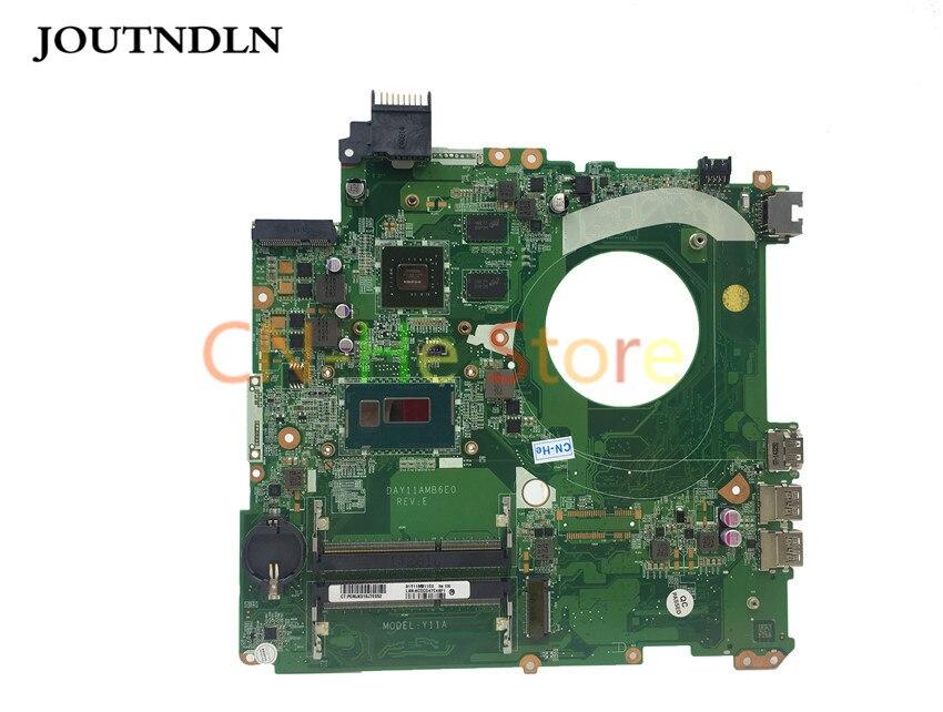 JOUTNDLN ل HP الحسد 15-P سلسلة اللوحة المحمول 766472-001 DAY11AMB6E0 SR1EB DDR3L w/ I7-4510U و 840M 2GB GPU