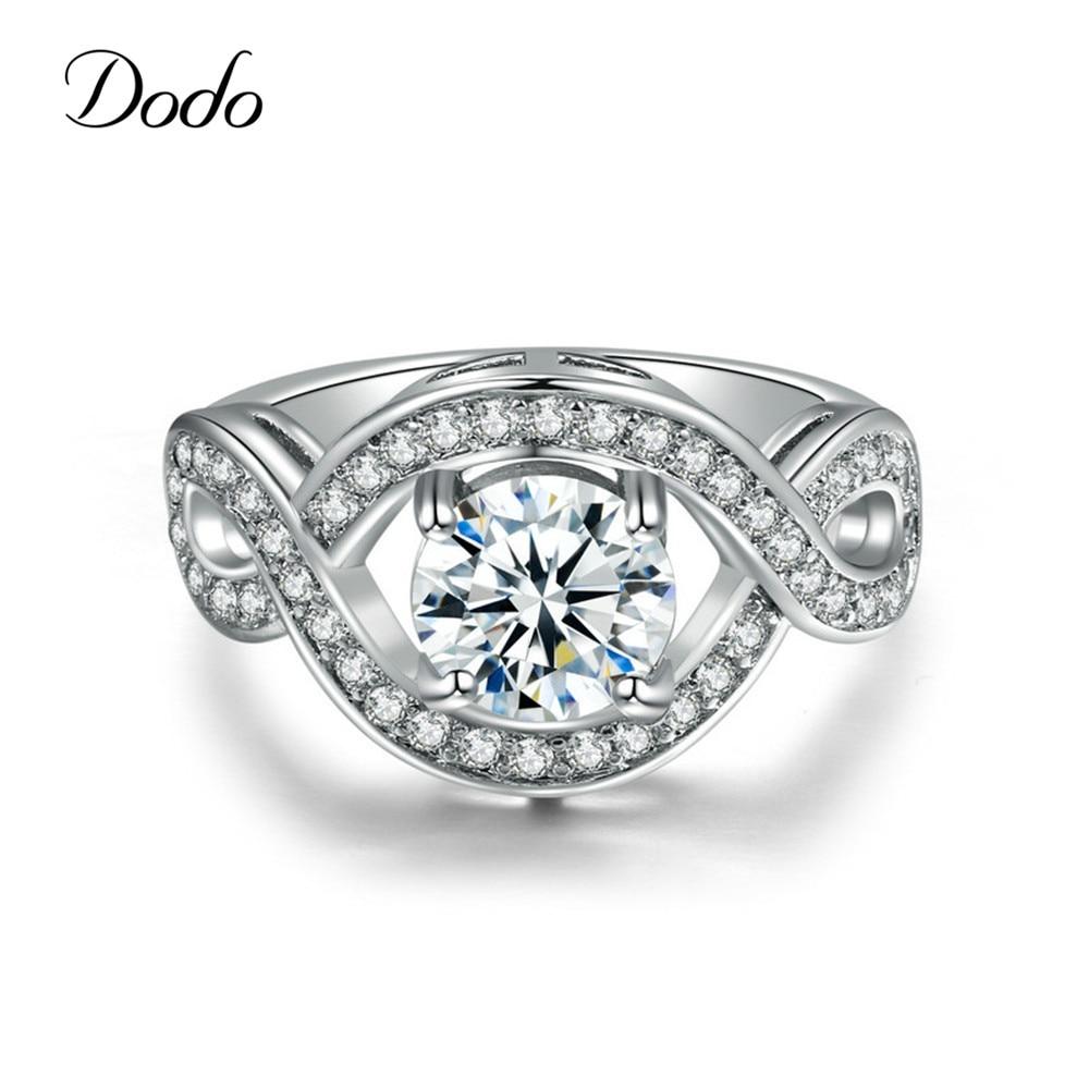 Обручальные кольца белого золота 585, уникальные подарочные винтажные кольца, бижутерия для женщин, обручальное кольцо Anillos Bague Bijoux argent Crown DR198
