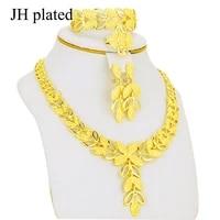 jewelry sets gold color bridal ethiopianeritreadubai african earringnecklaceringbracelet for women gifts set jewellery