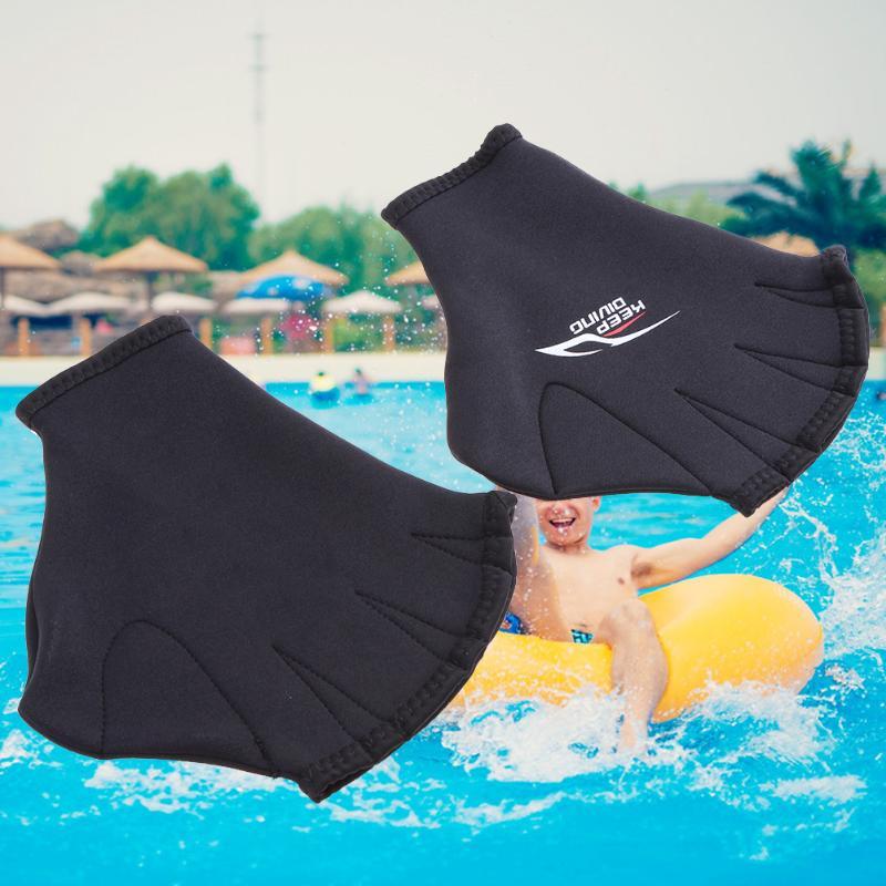 1 пара, унисекс, перчатки для плавания, для взрослых, весло, для тренировок, лягушка, для дайвинга, ласты, ручная одежда, оборудование для плав...