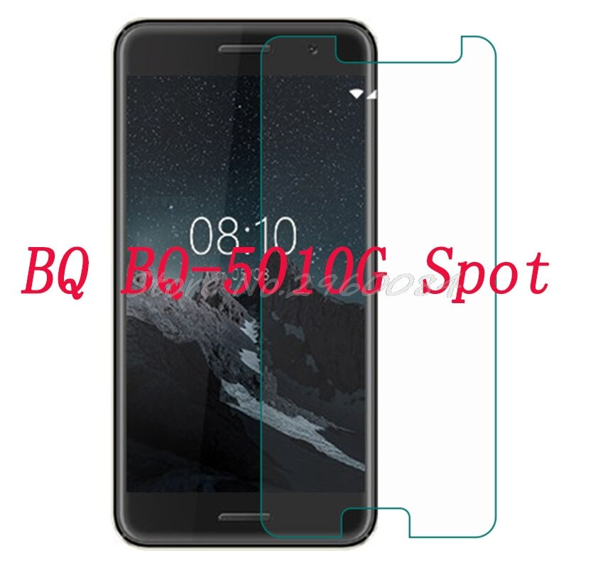 "Vidrio templado para teléfono inteligente para BQ BQ-5010G Spot 5 ""vidrio 9H película protectora funda protectora de pantalla teléfono"