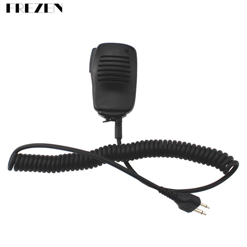 diy kits 200w hf power amplifier for ft 817 icom ic 703 elecraft kx3 qrp ptt control Mini Microphone Handheld Speaker Mic PTT External Headset For ICOM Walkie Talkie IC-V80 IC-V85 IC-F3S IC-V82 F10Two Way Radio