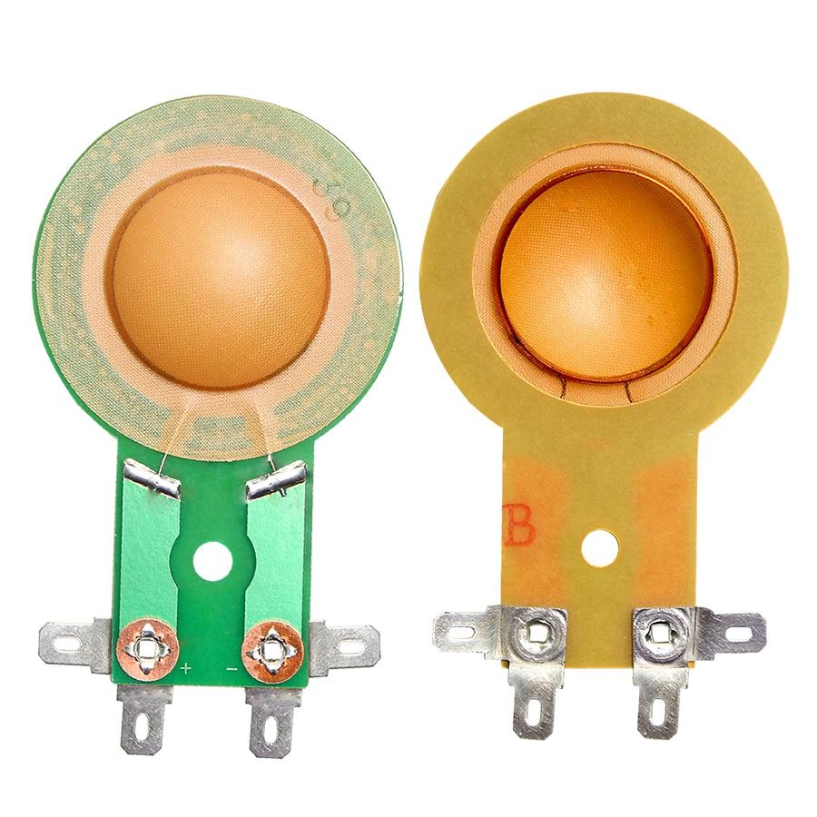 2 uds 25,5 25 Core 25,4 MM Bobina de voz altavoz para agudos con diafragma cuerno agudos película resina membrana conducir la Tweeter Corneal soporte