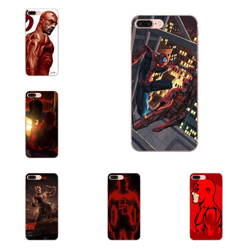 Funda de teléfono Vertical 49x Daredevil mundo en el fuego para Xiaomi Mi3 Mi4 Mi4C Mi4i Mi5 Mi 5S 5X 6 6X 8 SE A1 Max mezclar 2 Note 3 4