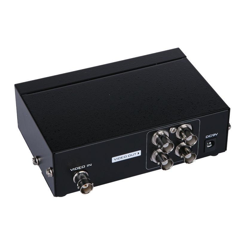 Распределитель BNC 1 в 4 out BNC HUB Box 4 Way BNC дистрибьютор MT-104BC