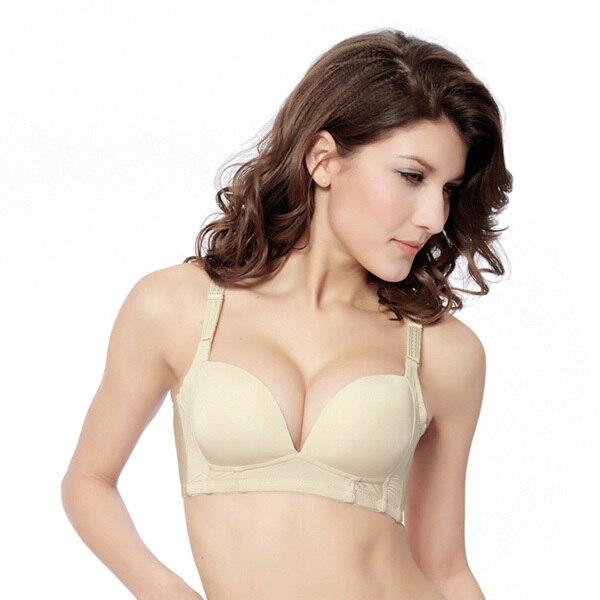 2019 neue Frauen Push Up Büstenhalter Sexy Bh Glatte Nahtlose Dünne Padded Bh Shapewear Dropshipping
