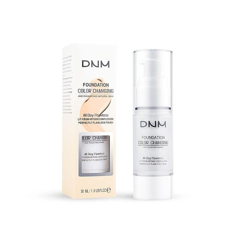 Base de maquillaje líquido de maquillaje de larga duración con Base de maquillaje de tono de piel de Color corrector de cara desnuda de 30ML