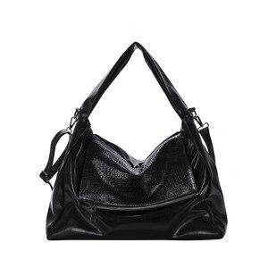HOT Fashion Designer Women Handbag Female PU Leather Bags Handbags Ladies Portable Shoulder Bag Office Ladies Hobos Bag Totes