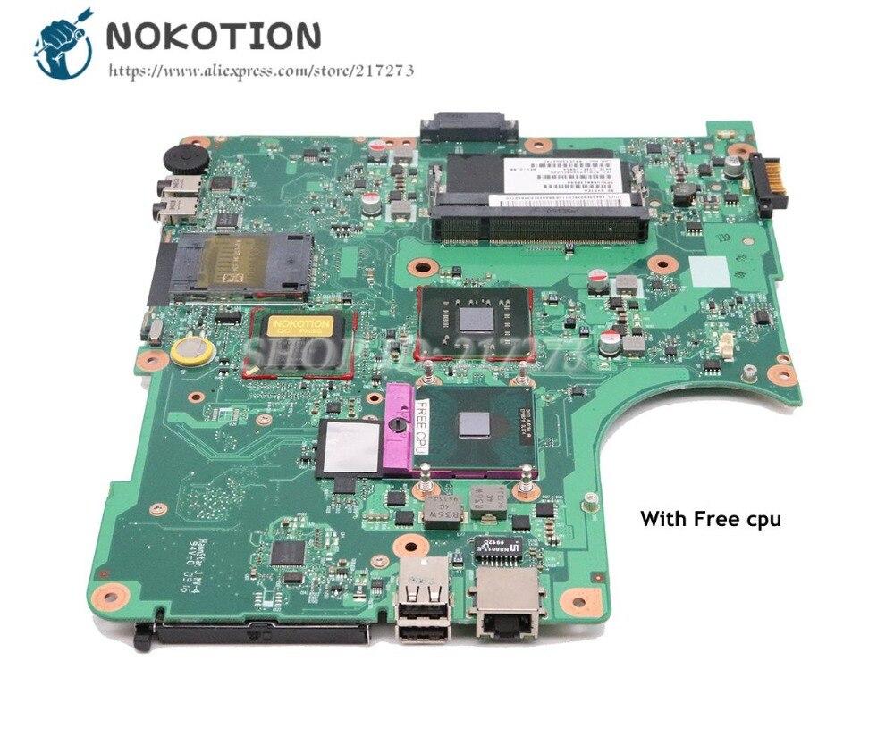 NOKOTION Für Toshiba Satellite L300 L305 Laptop Motherboard DDR2 Freies cpu V000138590 6050A2264901-MB-A02