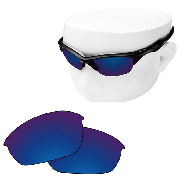 OOWLIT Polarized Replacement Lenses of Deep Water for-Oakley Half Jacket 2.0 OO9144 Sunglasses