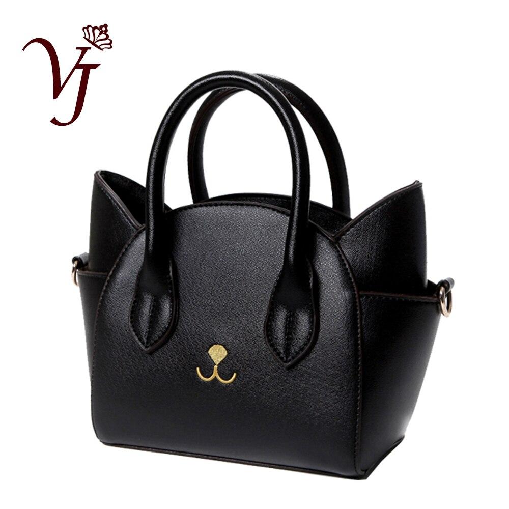 Bolso de hombro con asa superior de cuero para mujer con diseño famoso, bolso de mensajero con Gato bonito para mujer, bolsos pequeños para mujer, maravilloso regalo