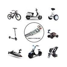 HGLRC FLIPSKY FS ESC kaykay 50A V4.12 ESC elektronik hız kontrol elektrikli kaykay için RC araba tekne bisiklet E-scooter Robot