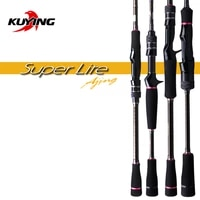 kuying superlite ajing 2 28m 76 2 58m 86 spinning casting fishing lure rod stick cane pole super fast action bottom water