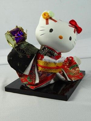 Hermosos regalos del Día de San Valentín para muñecas de arte Geisha creativo japonés adorno con estilo A Fortune Cat estatua decoración del hogar