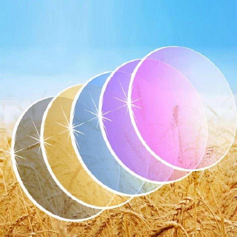 1.61 1.67 Aspherical التدرج النظارات العدسات MR-8 MR-7 فائقة صعبة الملونة السفر وصفة طبية قصر النظر العدسات ل النظارات الشمسية
