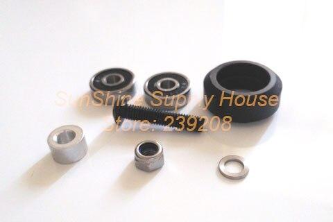 Kit de rueda sólida POM CNC de alta calidad mecanizado para VSlot rail OX CNC 30 juegos