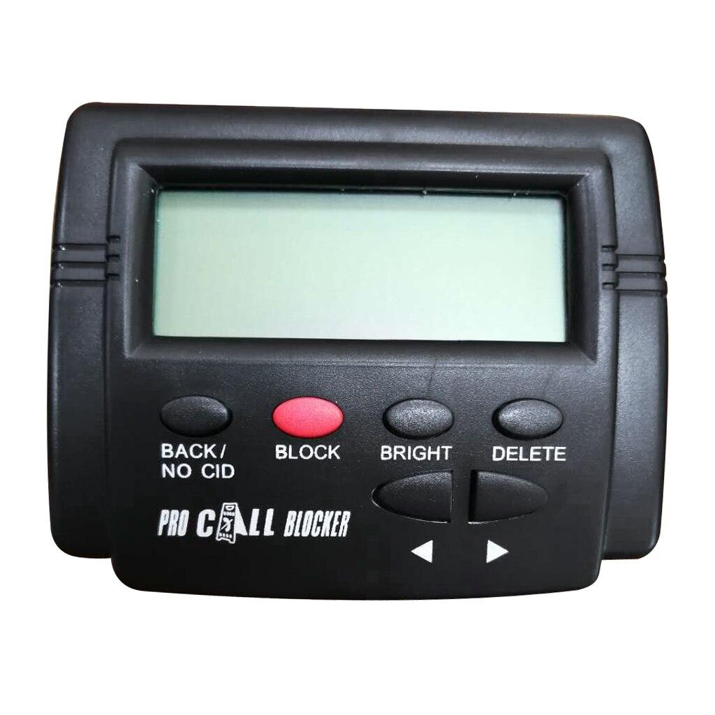 Caja de identificación de llamadas para teléfono fijo, bloqueador de llamadas, permite...