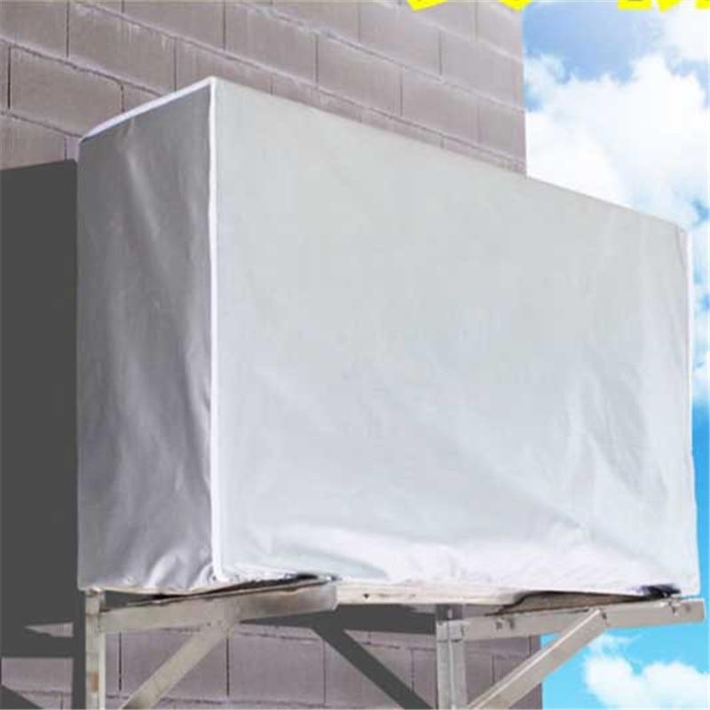 2018 Novo Ao Ar Livre Ar Condicionado Tampa de Ar Condicionado Tampa De Limpeza máquina de Lavar Roupa Anti-Poeira À Prova D Água Anti-Neve Tampa De Limpeza