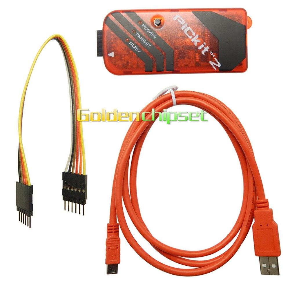 Envío Gratis, microcontroladores PICkit2 PIC KIT2, programador de depuración, adaptador de programación para PIC dsPIC PIC32 PIC24