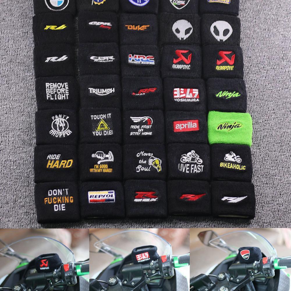 DIY 3D мотоциклетные передние тормозные баки для жидкости, носки для MV Agusta / YAMAHA / BMW / KAWASAKI / HONDA / DUCATI Chou
