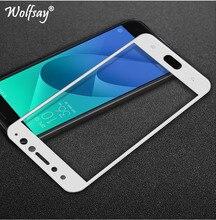 Screen Protector voor Glas Asus Zenfone 4 Selfie Pro ZD552KL Gehard Glas Voor Asus Zenfone 4 Selfie Pro ZD552KL Volledige film