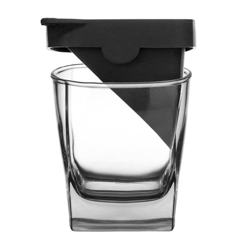 Iced Whisky Glas Wodka Wijn Geesten Glas Cup Iceberg Met Silicone Ice Mold tweedelige