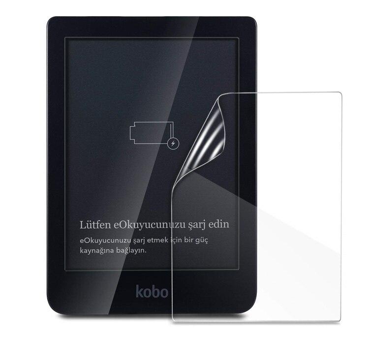 2 uds película protectora transparente LCD PET Anti-rayado funda protectora de pantalla para Kobo Clara HD 6 6 pulgadas Tablet e-reader Accesorios