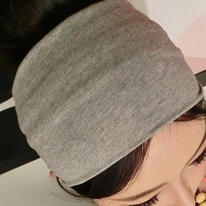 wholesale fashion handmade soft comfortable cotton fabric hair accessoryies headbands fashion for women 12cm