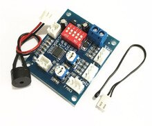 50k NTC 3950 Thermistor PWM Temperature Probe Speed Controller Board Control Module Buzzer DC 12V 5A CPU Fan High-Temp Alarm