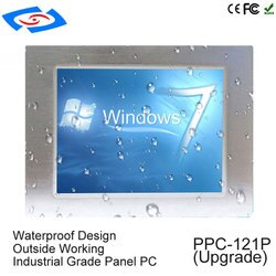 12.1 polegada Intel X86 processador celeron J1900 4 GB ram Tela de Toque Industrial PC painel Com sistema Windows10