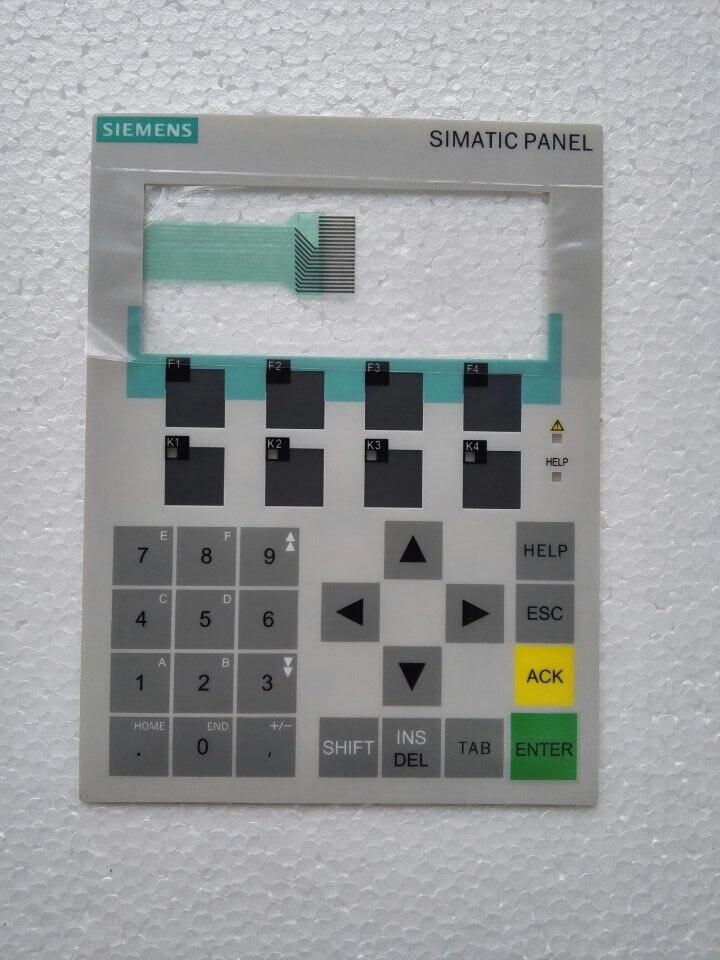 لوحة المفاتيح الغشائية OP77B 6AV6641-0CA01-0AX0, لإصلاح لوحة HMI ~ افعل ذلك بنفسك ، جديدة وأصلية في المخزون