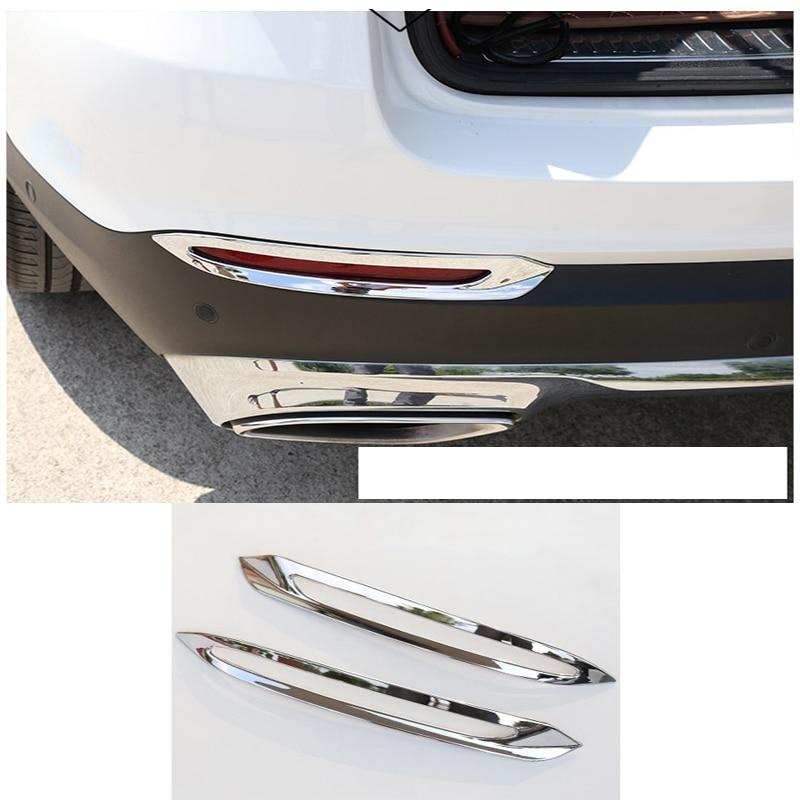 Cubiertas para faros antiniebla traseras, cubiertas para rejillas, cubiertas para luces antiniebla, tiras decorativas para Mercedes Benz GLC clase X253 Sport