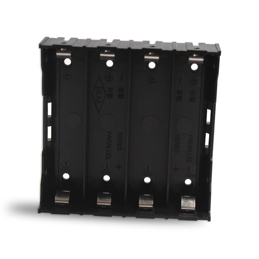 20 قطعة/الوحدة عالية الجودة 4 فتحات 18650 بطارية البلاستيك تخزين مربع ل 4*3.7V 18650 بطارية ليثيوم مع 8Pin ل حام ربط
