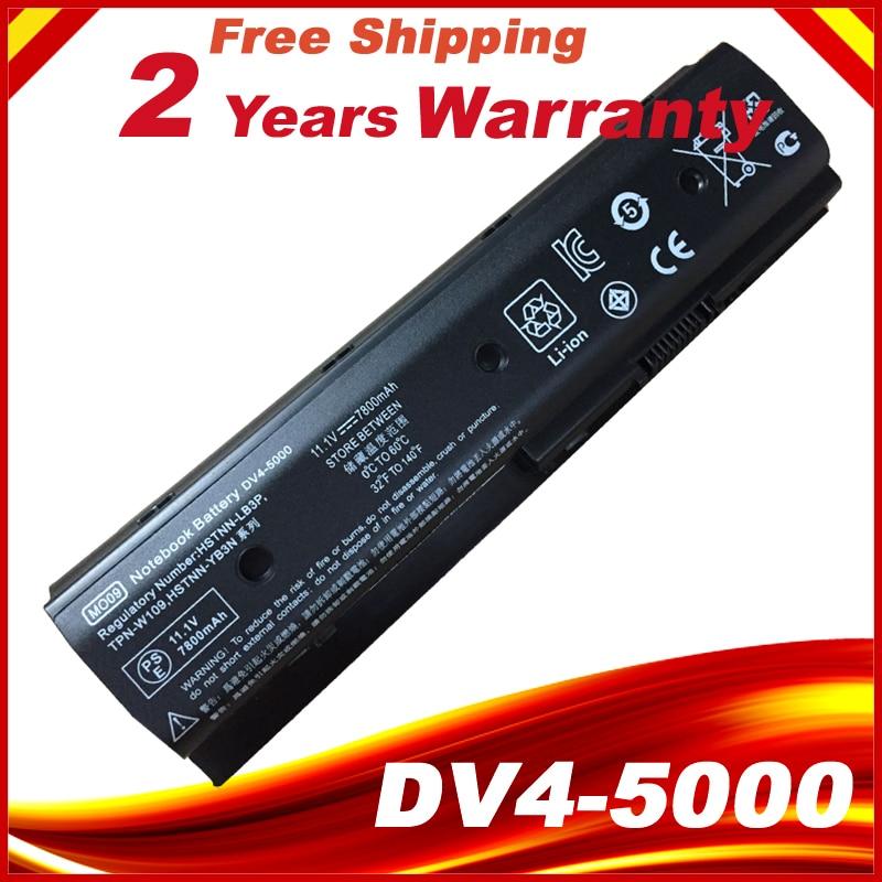 9 Cell MO09 Battery For HP Pavilion Dv4-5000 Dv6-7000 Dv6-8000 Dv7-7000 M6-1000 Hstnn-yb3n HSTNN-LB3P HSTNN-DB3P HSTNN-LB3N