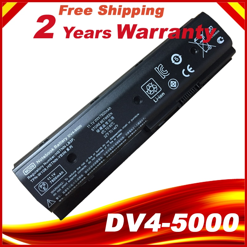 9cell MO09 батарея для HP Pavilion Dv4-5000 Dv6-7000 Dv6-8000 Dv7-7000 M6-1000 Hstnn-yb3n HSTNN-LB3P HSTNN-DB3P HSTNN-LB3N