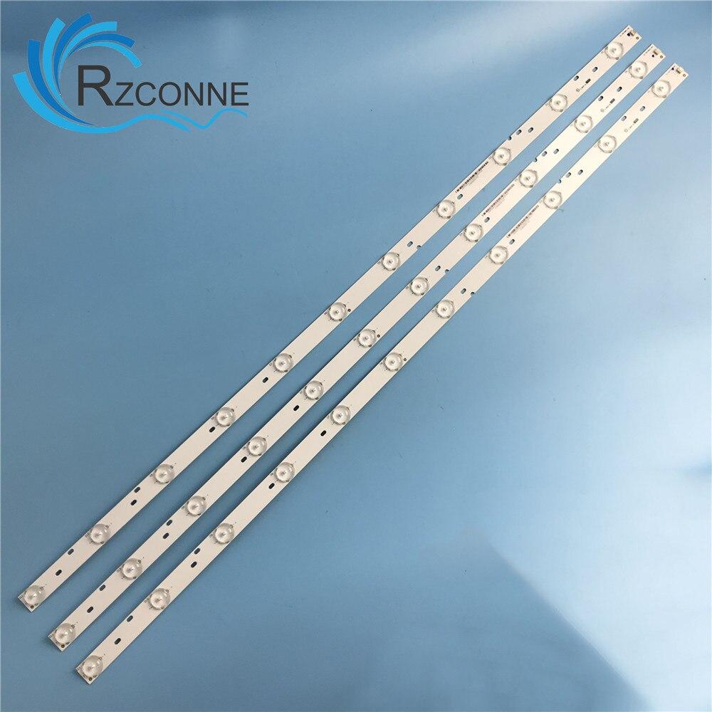 "798mm LED Backlight strip 11 lamp For Philips 40""TV CL-40-D611-V6 11800622-C0 40PFG6309 40PFK6409 TPT400LA HFO5 3V/LED"