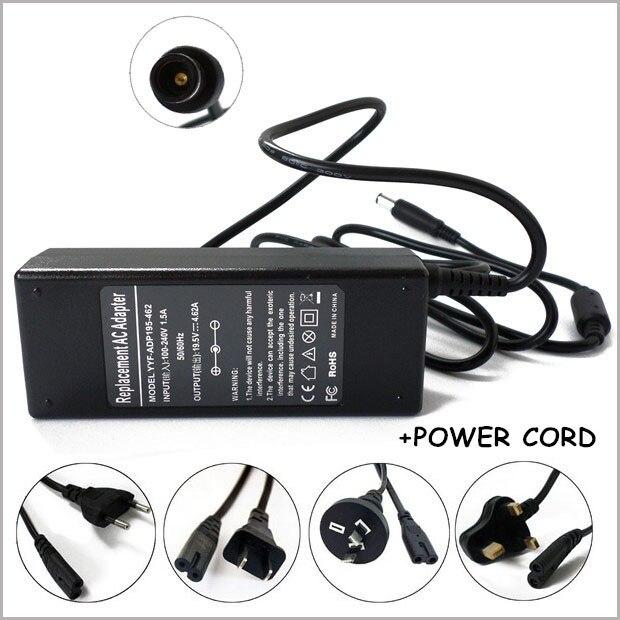 Universal 19.5 V 4.62A 90 W adaptador AC Carregador para Carregador Carregador Dell Latitude D620 D630 1525