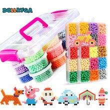 DOLLRYGA 400 stks/doos 24 Kleuren Kralen Jewel Bead Refill Pack Magical Kralen Set Water Sticky Kralen Voor ChildrenMaking Voor Kids